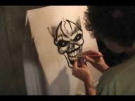 Airbrush - insane clown - Godsmack - Whatever - YouTube - Airbrush Videos