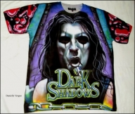 Airbrushed Leather Jacket, airbrushing by Danielle Vergne, custom airbrush leather - Airbrushed t-shirts - Airbrush Artwoks
