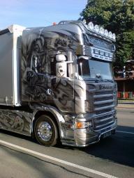 """Scania R V8 """"Joker"""" - Kustom Airbrush"""