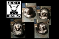 Airbrush hard hats and helmets Houston Texas welding hoods - Custom Paint and Print - Hard Hats