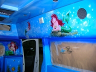 Pediatric Ambulance - Charity Sardinia - ArteKaos Airbrush