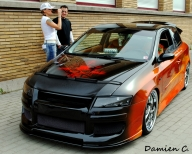 West Coast Choppers Fiat Stilo - Tuning Cars Airbrush