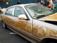 Aztec Car Art - Airbrush Artwoks