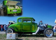Classic Hot Road Ford  - Airbrush Artwoks