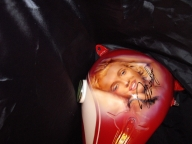 Airbrush on Tank Marilyn monroe - Favorite Art