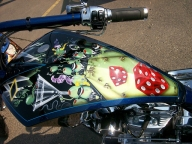 Michael Godard Chopper - Kustom Airbrush
