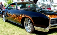 Muscle Car Airbrush Flames - Airbrush Artwoks