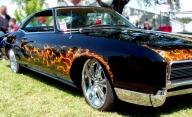 Muscle Car Airbrush Flames - Airbrush Artwoks