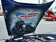 Bonnet Airbrush - Memorial Day - Airbrush Artwoks
