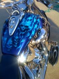 Dallas Airbrush - Airbrushed Bikes - Airbrush Artwoks