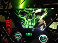 Green beach buggy | Airbrush Art | Professional Air Brush Artist in Perth, WA - Airbrush Artwoks
