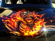 Car Boot | Airbrush Art | Professional Air Brush Artist in Perth, WA - Airbrush Artwoks