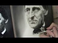 Airbrush Portrait of Ralph Waldo Emerson - YouTube - Photorealism