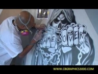 Airbrush Art By CB GRAPHICS - Airbrush Videos