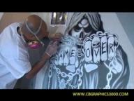Airbrush Art By CB GRAPHICS - Airbrush Videos