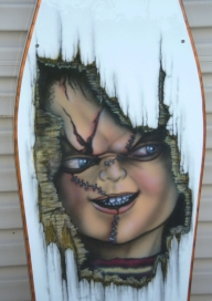 """Chucky""  table - CLOSE UP - Kustom Airbrush"