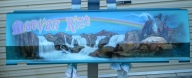 tailgate mural - Wizard - AUTO ART