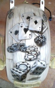 Harley rear guard - the gambler - AUTO ART