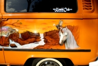 Kombi - side ( Unicorns) - AUTO ART