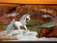 kombi side 2 unicorns - AUTO ART