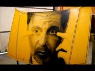 Airbrush Photorealistic Step by Step - Al Pacino - Airbrush Video Tutorials