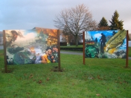 """Another """"Bundeswehr""""-artwork made to order. Acrylic on Alu-Dibond. - Airbrush Artwork and Murals"""