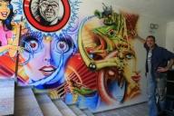 Wall for a pinball aficionado... - Airbrush Artwork and Murals