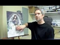 Airbrush Tutorial - Snakeskin  - Airbrush Videos