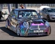 Airbrush n MiniCooper - Elsass Power