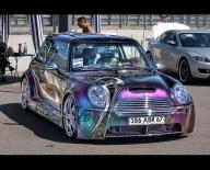 Airbrush n MiniCooper - Elsass Power  - Tuning Cars Airbrush
