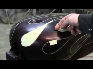 How to Airbrush Ghost flames by James Scott - Airbrush Video Tutorials