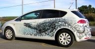 Berok Graffiti artist: Airbrush of cars in Barcelona - Tuning Cars Airbrush