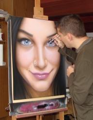 Airbrushing by kshandor - Fotorealismo