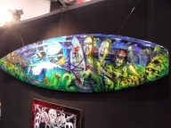 CUSTOM AIRBRUSH SURFBOARD Photo by JohnnyFisherman - Airbrush Artwoks
