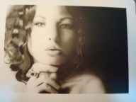 Fine Art Airbrush Lesson: Black and White Portrait   Airbrush-Guidance - Creative Learning