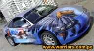 Airbrush tuning car - Airbrush Artwoks