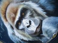Golilla Airbrush Artwork - My favorite on Justairbrush