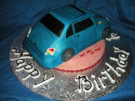 3-D Car cake by Wolfbay Cafe  - Food