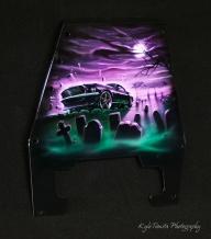 Frankenstang Painted Mustang - Airbrush Artwoks