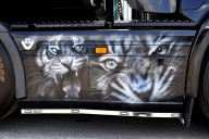 Airbrush on Truck LR62 RJR's detail photo - Kustom Airbrush