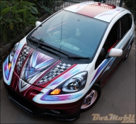 Dreams Come True - Modifikasi Honda All New Jazz - Kustom Airbrush