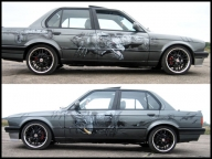 BMW E30 AIRBRUSH CUSTOM PAINTING - Airbrush Artwoks