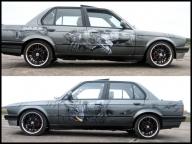 BMW E30 AIRBRUSH CUSTOM PAINTING - Airbrush Artwoks