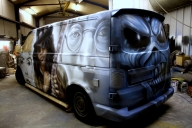 Professional Wall Murals, Airbrushed Murals and other Custom Murals by Big White Frog - Airbrush Artwoks