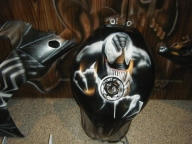 Venom Bike - Airbrush Artwoks
