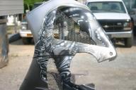 Silver Surfer Bike - Airbrush Artwoks