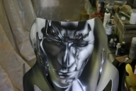 Silver Surfer - Airbrush Artwoks