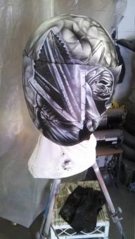 Silent Hill Helmet - Airbrush Artwoks