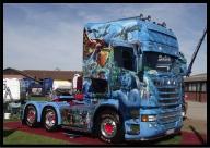 Super Templeton Scania Airbrush AVTAR  - Airbrush Artwoks