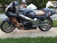 Biohazard Bike - Airbrush Artwoks